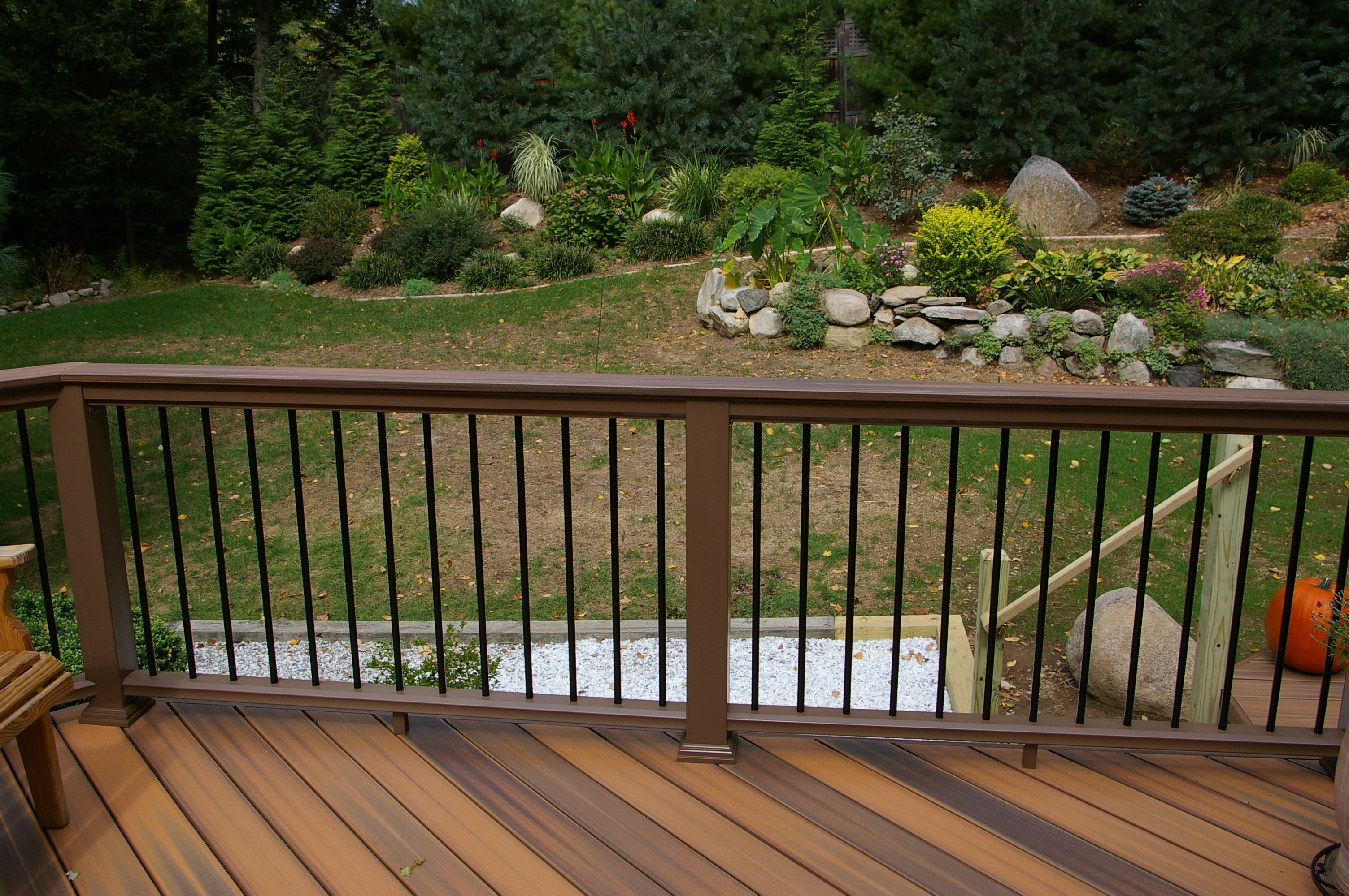 Fiberon Two Level Deck Custom Decks Of Fairfield County